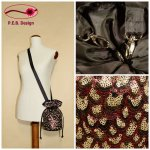 Pompadour Bag Sequins Scale Pattern