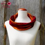 Silk Loop Wine Red-Copper