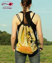 Backpack Reversible Sequins Gold