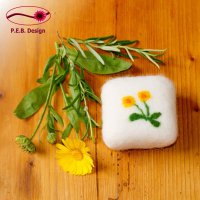Felted Soap Marigold